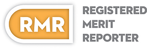 Registered Merit Reporter Logo